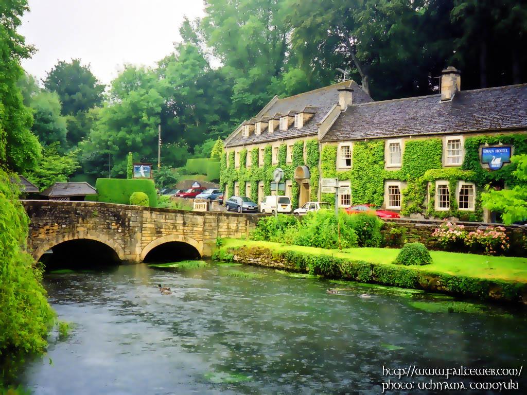 画像 絵本の中のような景色!イギリスで最も美しい村バイブリー Naver まとめ