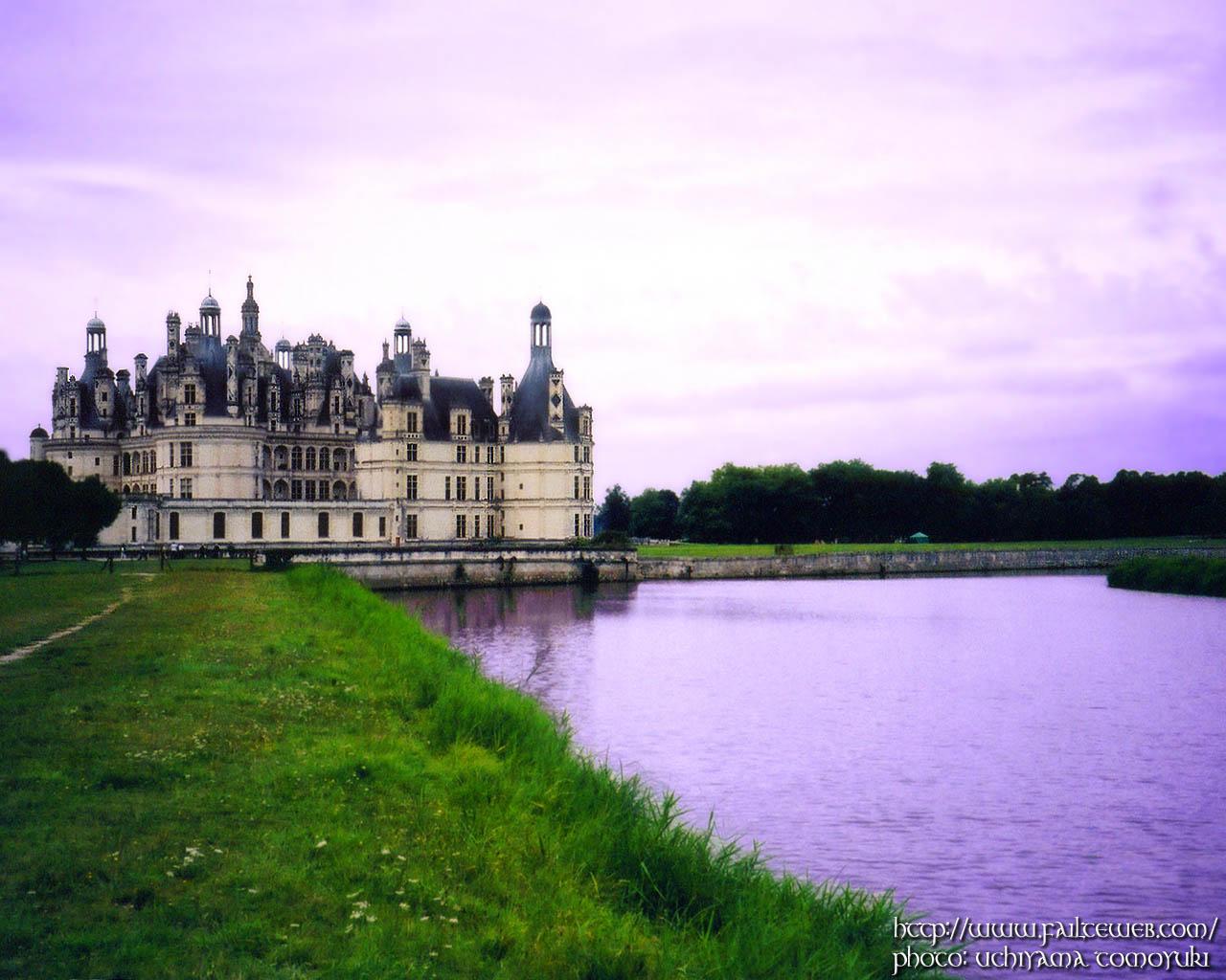 Chateau de Chambord WALLPAPER