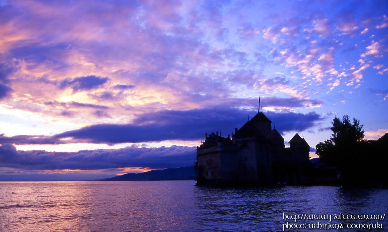 Chateau de Chillon WALLPAPER