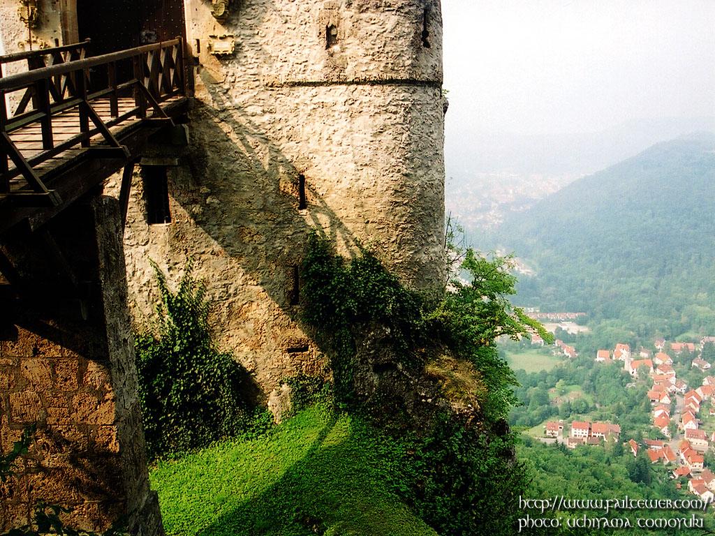 リヒテンシュタイン城 壁紙写真